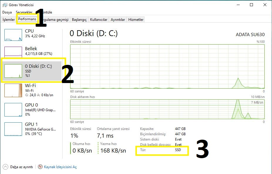 Windows 10 Disk Türü Nasıl Öğrenilir? – windows 10 disk türü