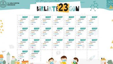 meb birlikte 23 gün etkinlikleri