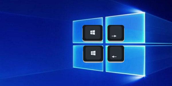 windows ekranı ikiye bölme
