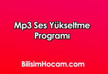 Mp3 Ses Yükseltme Programı Full İndir – mp3 ses yükseltme
